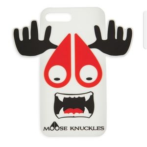 Moose Knuckles iPhone X White Munster Phone Case